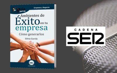 Silvia García presenta su libro en 'Hoy por hoy', programa de Cadena Ser